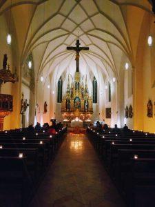 Krippendarstellung in der St. Peterskirche Ergolding